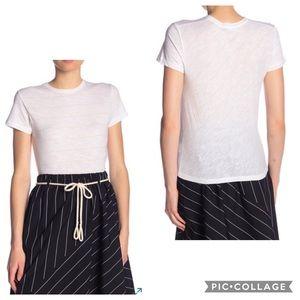 Vince Skinny Stripe Short Sleeve T-shirt Sz XS